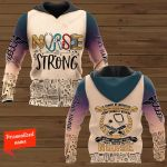 Nurse Strong It Cannot Be Inherited Nor Can It Ever Be Purchased I Have Earned It With My Blood Sweat And Tears I Own It Forever The Title Nurse Personalized ALL OVER PRINTED SHIRTS