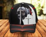 Jesus Christ God Knight Christian Classic 3d Cap ALL OVER PRINTED