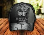 Don't be Afraid Just have Faith Jesus Christ Classic 3d Cap ALL OVER PRINTED