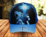 Jesus Christ God Lion Classic 3d Cap ALL OVER PRINTED