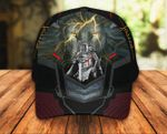Jesus Christ God Lion Knight Classic 3d Cap ALL OVER PRINTED