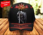 Jesus Is My Savior Knight Classic 3d Cap Personalized ALL OVER PRINTED