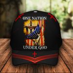 One Nation Under God Classic 3d Cap ALL OVER PRINTED