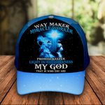 Way Maker My God That is Who you are Jesus Classic 3d Cap ALL OVER PRINTED