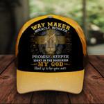 Way Maker Jesus Christ God Faith Classic 3d Cap ALL OVER PRINTED