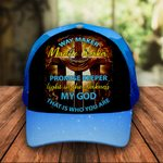 Way Maker Jesus Christ God Faith Classic 3d Cap ALL OVER PRINTED