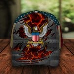US Navy Classic 3d Cap ALL OVER PRINTED