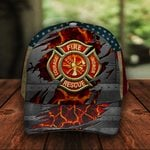 US Firefighter Classic 3d Cap ALL OVER PRINTED