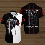 A Child of God a man of Faith a warrior of Christ Knight Jesus ALL OVER PRINTED SHIRTS DH070801