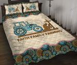Faith Family Farming Quilt Bed Set & Quilt Blanket BIE21041901-BIQ21041901