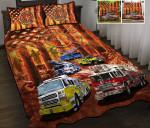 Firefighter-Fire truck Quilt bed set & Quilt Blanket DIE21042201-DIQ21042201