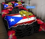 Puerto Rico Personalized Quilt Bed Set & Quilt Blanket TUQ21042602 TUE21042602
