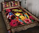 Puerto Rico Frog Quilt Bed Set & Quilt Blanket BIE21051001-BIQ21051001