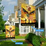 God Eagle Personalized Flag BIF21051701