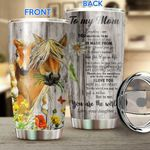 Horses-Daughter to Mom Stainless Steel Tumbler TRU21052103