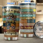Camping girl-Camping rules Stainless Steel Tumbler HOU21052401