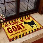 Beware of the Goat Doormat TRJ21052803