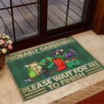 Probably Gardening Doormat TRJ21052804
