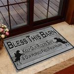 Cowboy Bless This Barn Doormat BIJ21053101