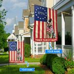 Heeler 1776 Personalized Flag BIF21060402