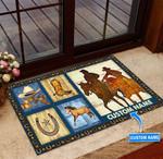 Cowboys Personalized Doormat TRJ21060801