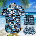Tractors Palm Tree Hawaii Men-Women Shirt & Shorts TRT21060906-TRO21060906