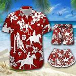 Pole Bending Hawaii Men-Women Shirt & Shorts BIT-BIO-21060910