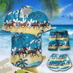 Harness racing on the beach Hawaii Men-Women Shirt & Shorts TRT21061005-TRO21061005