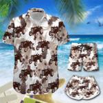 Tropical Tractor Pineapple Hawaii Men-Women Shirt & Shorts HOT21061003-HOO21061003