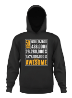 50 Years Old Of Being Awesome 50Th Birthday Gifts Men Women Pullover Hoodie T Shirt Sweatshirt