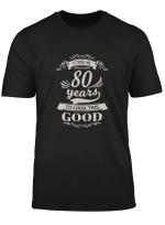 80Th Birthday Gifts Men Women Born 1939 Vintage 80 Year Old Pullover Hoodie T Shirt Sweatshirt