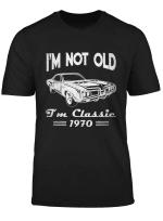 50th Birthday T Shirts For Men - Classic Car 1970 T Shirt Sweatshirt