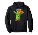 Dabbing Cactus with Sombrero Funny Cinco De Mayo Costume Tee