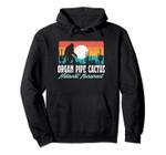 Organ Pipe Cactus National Monument Bigfoot Desert Graphic Pullover Hoodie