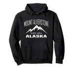 MOUNT ALVERSTONE ALASKA Climbing Summit Club Outdoor Gift Pullover Hoodie