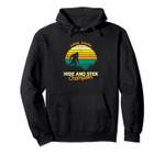 Retro Sasquatch Lutak, Alaska Bigfoot State Souvenir Pullover Hoodie