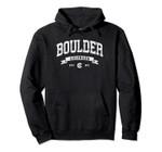 Boulder Hoodie, Vintage Boulder Colorado Sweatshirt Gifts CO