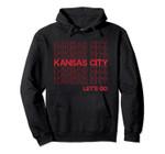 Kansas City: Football, Baseball, and Basketball fan tee Pullover Hoodie
