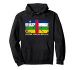 Flag | Vintage Made In Central African Republic Gift Pullover Hoodie