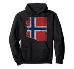 Arizona Norwegian American Norway Flag Norge Pullover Hoodie