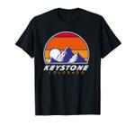 Keystone Colorado - USA hiking and climbing 1980s Retro Unisex T-Shirt