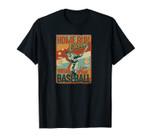 Funny Gift Vintage Baseball Hobby for Men Women Kids Classic Unisex T-Shirt