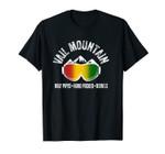 Vail Rasta Colorado Jamaican Vaut Pass CO Jamaica Jammin Unisex T-Shirt