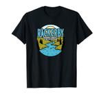 Vintage Rackerby, California River Valley Souvenir Print Unisex T-Shirt