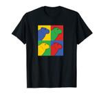 Capybara Pop Art Unisex T-Shirt - Vintage Rodent Pullover
