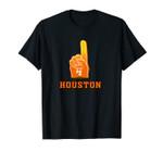 #1 Houston Baseball H | Vintage H-Town Crush City Texas Gift Unisex T-Shirt