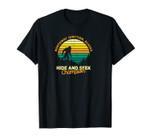 Retro Northway Junction, Alaska Big foot Souvenir Unisex T-Shirt