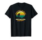 Retro Johnstown, Colorado Big foot Souvenir Unisex T-Shirt