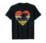 Sprint Car Racing Vintage Design Retro Racer Heart Sport Fan Unisex T-Shirt