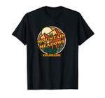 Vintage Mountain Meadows, Colorado Mountain Hiking Print Unisex T-Shirt